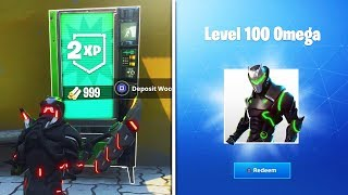How to LEVEL UP FAST in Fortnite! UNLOCK LEVEL 100 in Season 4 NOW! MAX OMEGA UNLOCKED FASTER!