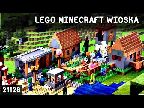 Lego Minecraft Wioska 21128 Village Moja Opinia Po Polsku 2016