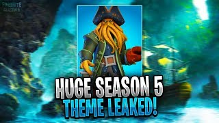 *NEW* Fortnite: SEASON 5 THEME LEAKED! | New *LEAKED* Season 5 Info + MORE! (Fortnite Battle Royale)
