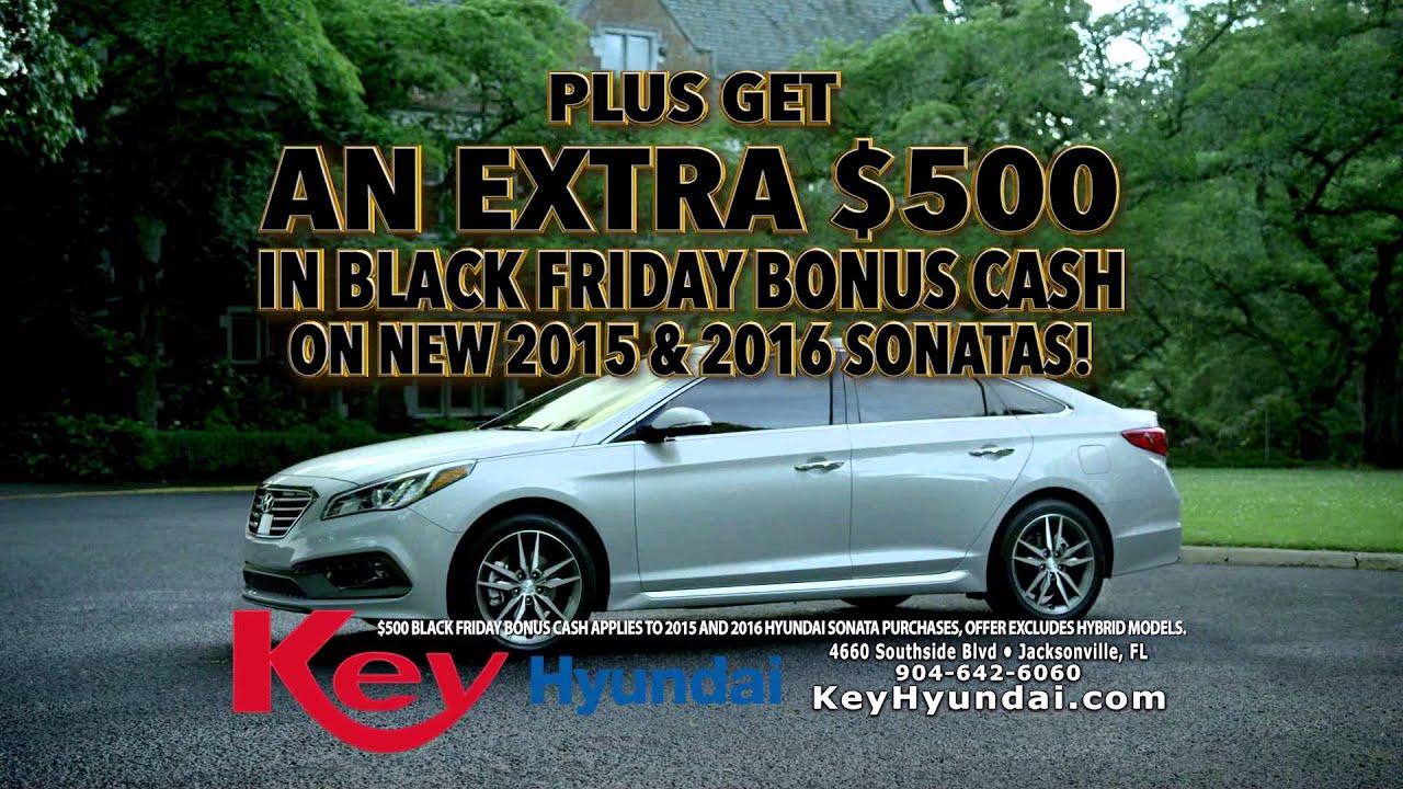 Elegant Hyundai Sonata Black Friday Special 2015 | Key Hyundai | Jacksonville, FL
