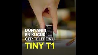 Dünyanın En Küçük Cep Telefonu: Zanco tiny t1.