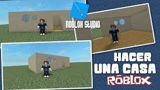 roblox as make a tutorial house in Spanish for beginners 🎅