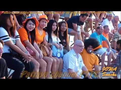 Beach Soccer Holland and Corsica Pattaya beach for the 11th Thailand