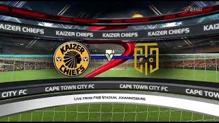Absa Premiership 2017/2018 - Kaizer Chiefs vs Cape Town City