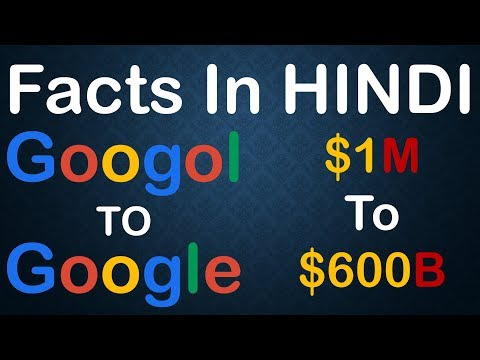 Amazing Google Facts - You Don`t Know | Googol To Google Journey | 1999 To Present | $1M to $600B