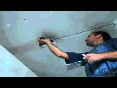видео: Шпаклевка швов гипсокартона