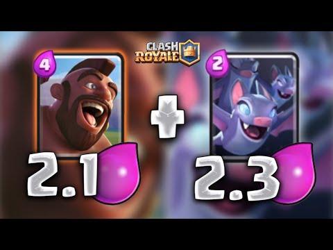 2.1 - 2.3 ¡¡ LOS MAZOS MÁS RÁPIDOS DEL MUNDO !! - Clash Royale [XHEO]