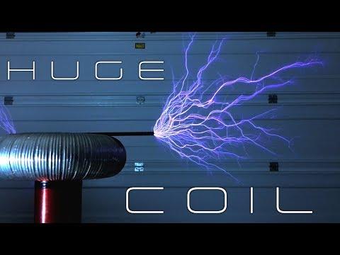 DIY 3 volt tesla coil MUSEUM QUALITY