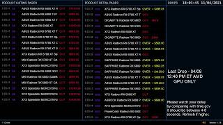 Radeon 6800/6800XT/6900XT Stock Check