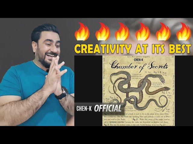 CHEN-K Chamber of Secrets Reaction | Chen-K reaction | IAmFawad