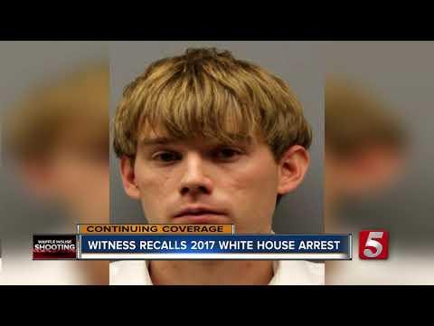 Witness Captures Reinking's 2017 Arrest Near White House
