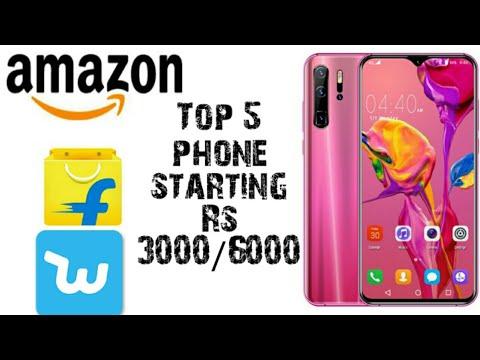 Top5 Full Screen Smartphone Starting Price 3000 Buy On Amazon.in + Flipkart