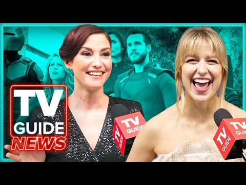 Supergirl Cast Celebrates 100th Episode | Melissa Benoist, Chyler Leigh