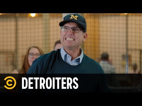 Jim Harbaugh Goes Fowling - Detroiters