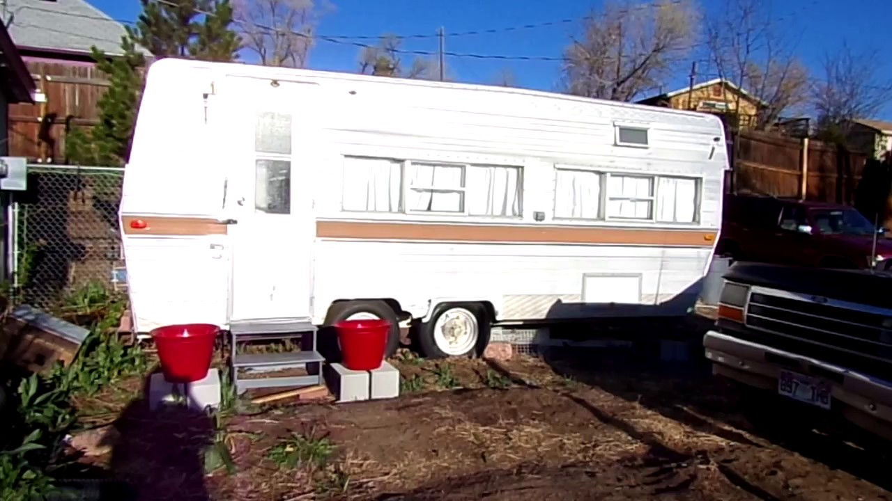 trailer remodel before and after