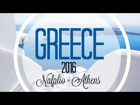 Greece Travel Diary (Athens, Nafplio) | Rafzaella