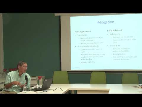 Talk on 'The Santiago Climate Conference: A Preview' by Professor Daniel Bodansky
