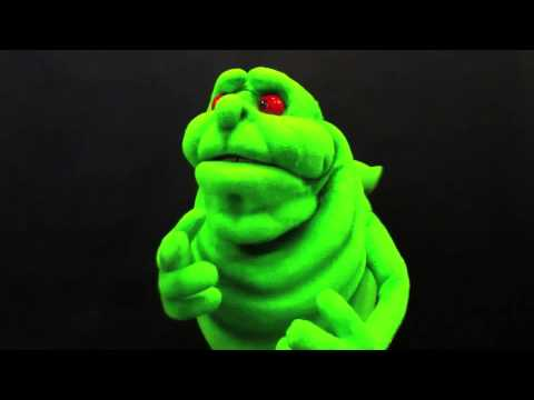 Cartoon Slimer Ghostbusters Puppet Youtube