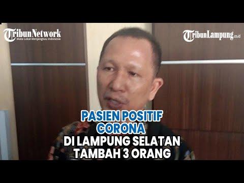 Pasien Positif Corona di Lampung Selatan Tambah 3 Orang