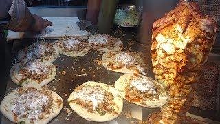 Street Food Chicken Shawarma | Street Food Of Karachi Pakistan