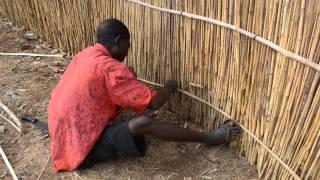 Building A Fence On Kamuzu Road, Malawi
