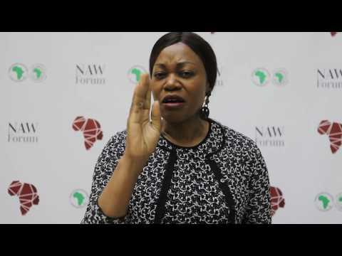 Tsitsi Masiyiwa at the New African Woman Forum