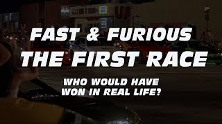 FAST & FURIOUS:  The First Race - Who Really Won?