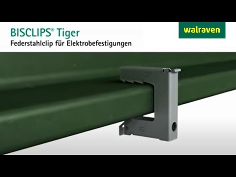 bisclips tiger befestigungsl sung f r elektroanwendungen youtube. Black Bedroom Furniture Sets. Home Design Ideas