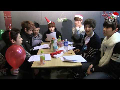 [BTS 꿀 FM 06.13] The very happy Christmas with BTS!