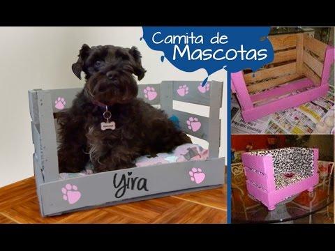 Chuladas creativas cama para mascota manuealidades - Ideas para cabeceros de cama ...