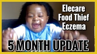 HE'S STEALING OUR FOOD! | 5 Month Update | Baby Cam