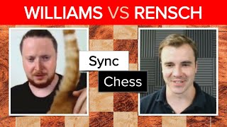 GingerGM & cat vs Danny Rensch | Game 1 | Synchronized Dual Commentary