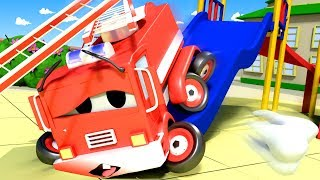 Baby Frank's Toothache - Amber the Ambulance in Car City l Cartoons for Children