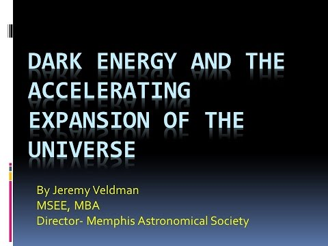 Dark Energy and the Accelerating Expansion of the Universe