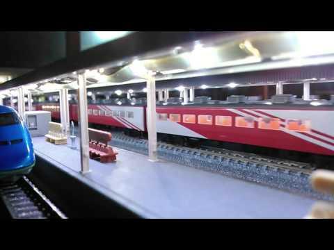 鉄道模型 C57-180とスーパーエクスプレスレインボー