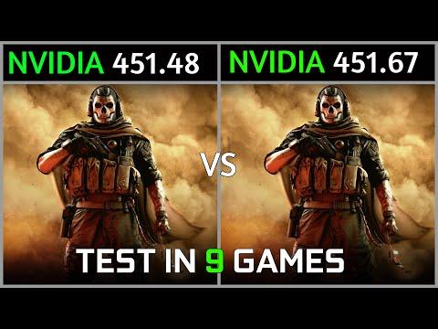 Nvidia Drivers 451.48