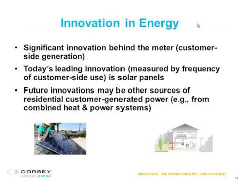 Webinar Playback: Energy Industry Group: Innovation, the Power Industry, and Antitrust