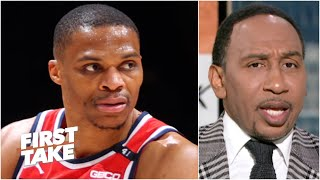 Stephen A. is frustrated that we don't see Russell Westbrook compete for championships | First Take