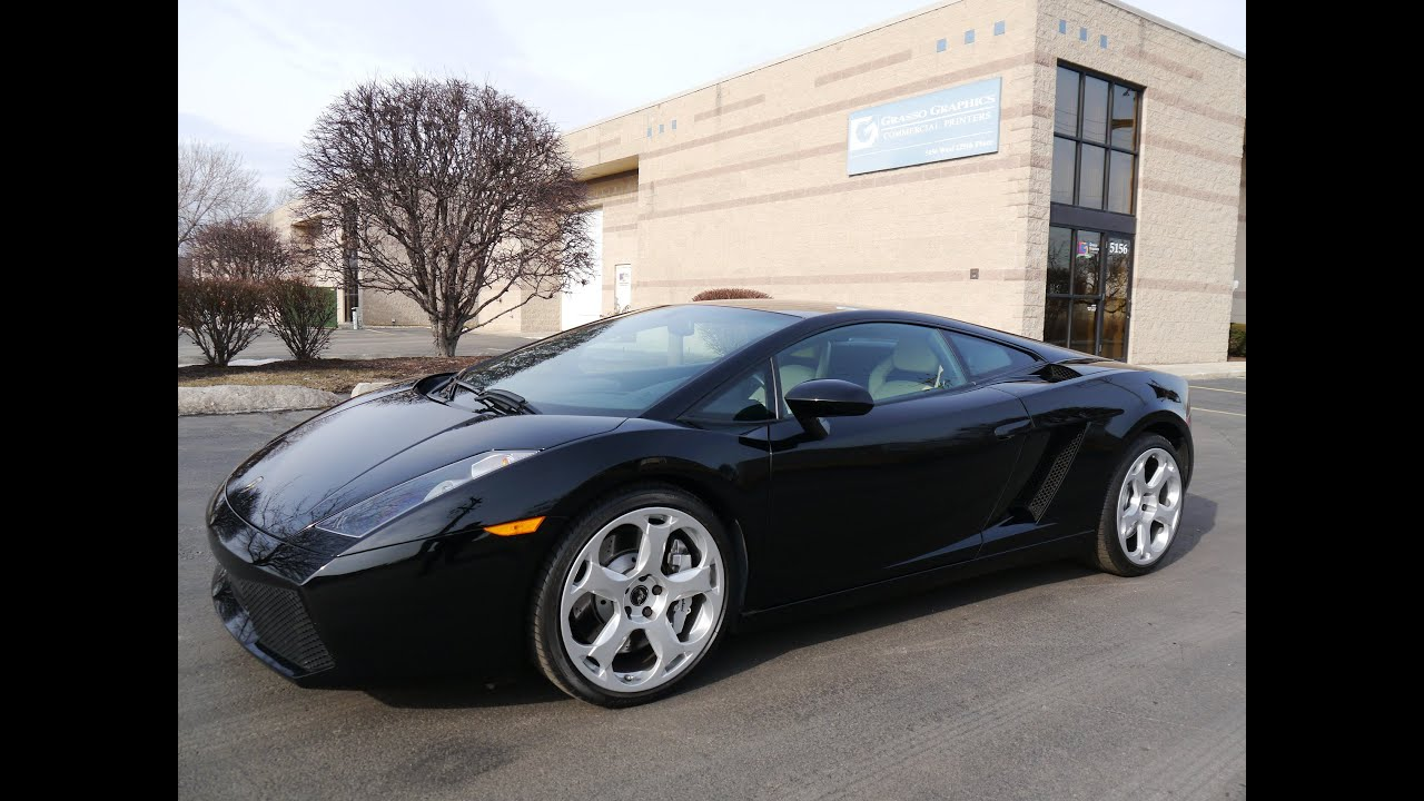 2005 lamborghini gallardo e gear sold youtube