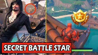 SECRET WEEK 1 BATTLE STAR LOCATION! (FORTNITE DISCOVERY CHALLENGES SEASON 8) WEEK 1 LOADING SCREEN