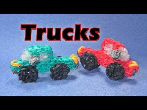 Rainbow Loom TRUCK Charm: How To Design