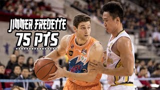 Jimmer Fredette 75 Points! Sharks vs Beijing
