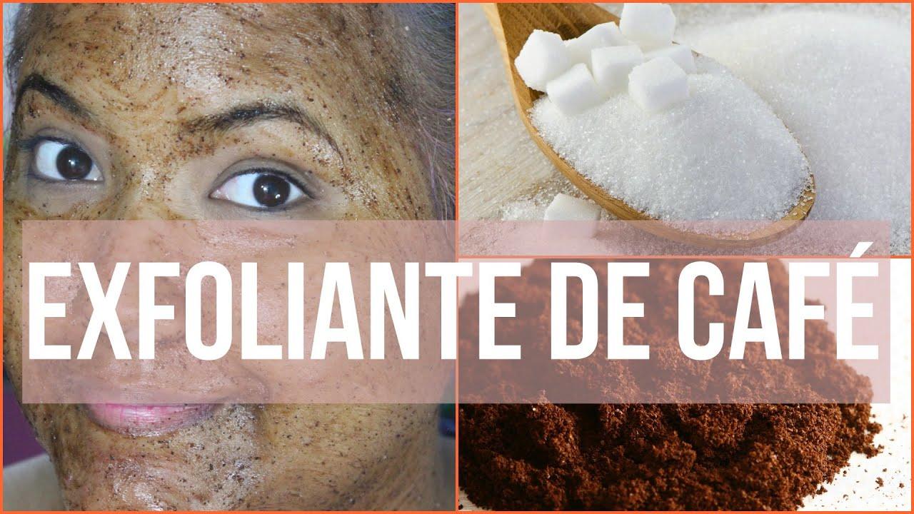 exfoliante cafe para el cuerpo