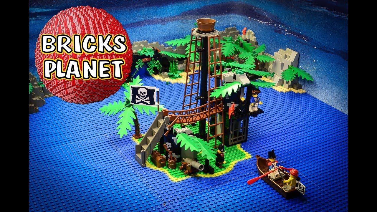How To Build Lego Forbidden Island