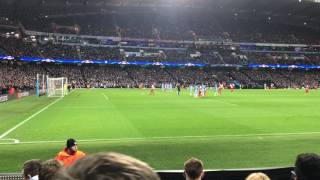 radamel falcao missed penalty vs man city fan pov champions league 21 02 2017