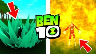 Roblox Ben 10 NEW ULTIMATE ABILITIES! Roblox Ben 10 Arrival of Aliens Remake