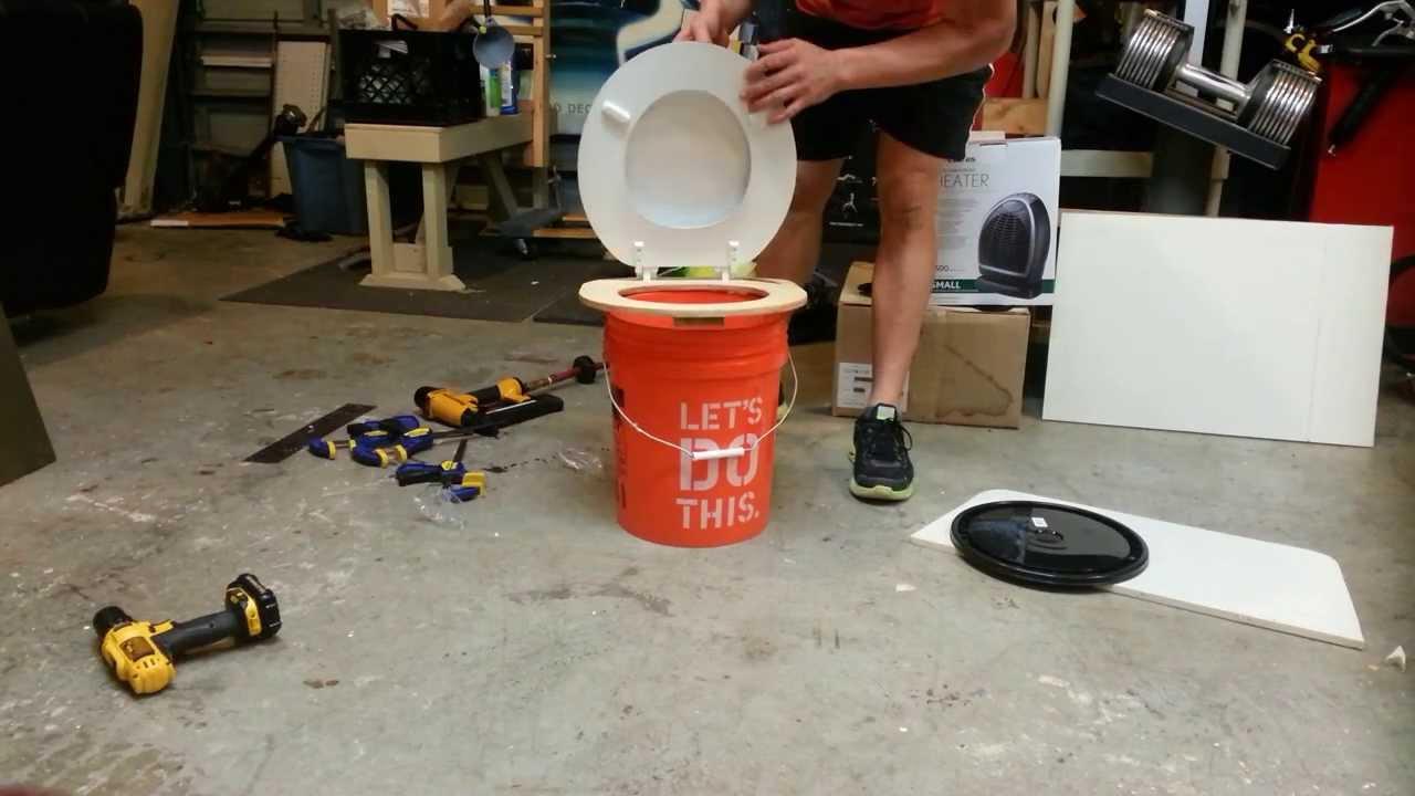 Portable toilet for $15 - YouTube