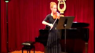 Bach - Solo Partita No.3 in E Major - III. Gavotte en Rondeau