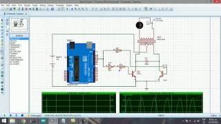 dc ac inverter 12v 120v 60hz with arduino