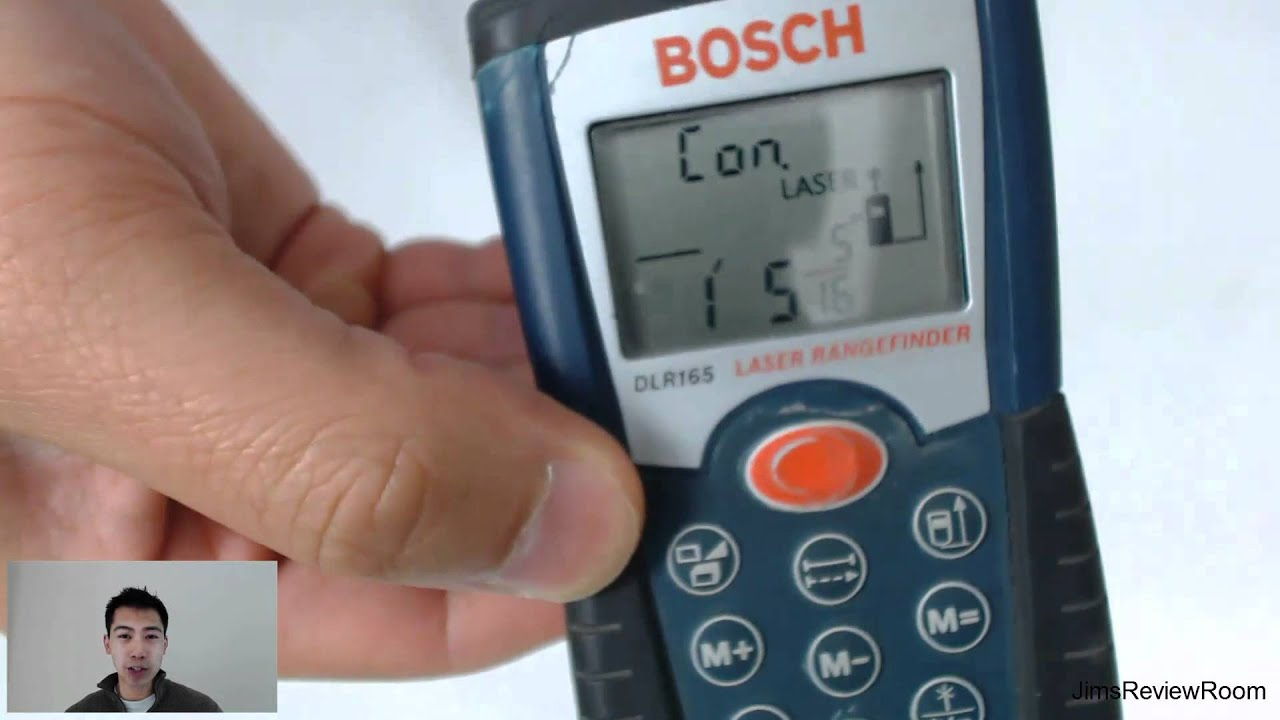 Review Bosch Laser Distance Range Measurer Youtube